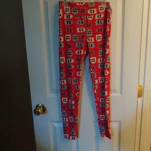 One size Lularoe leggings- LN pacman
